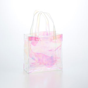 透明ビニールバッグ ホログラムバッグ
